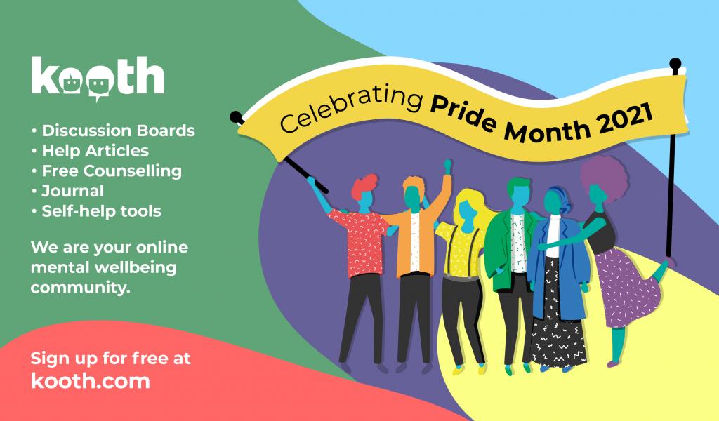 Kooth - Celebrating Pride Month 2021